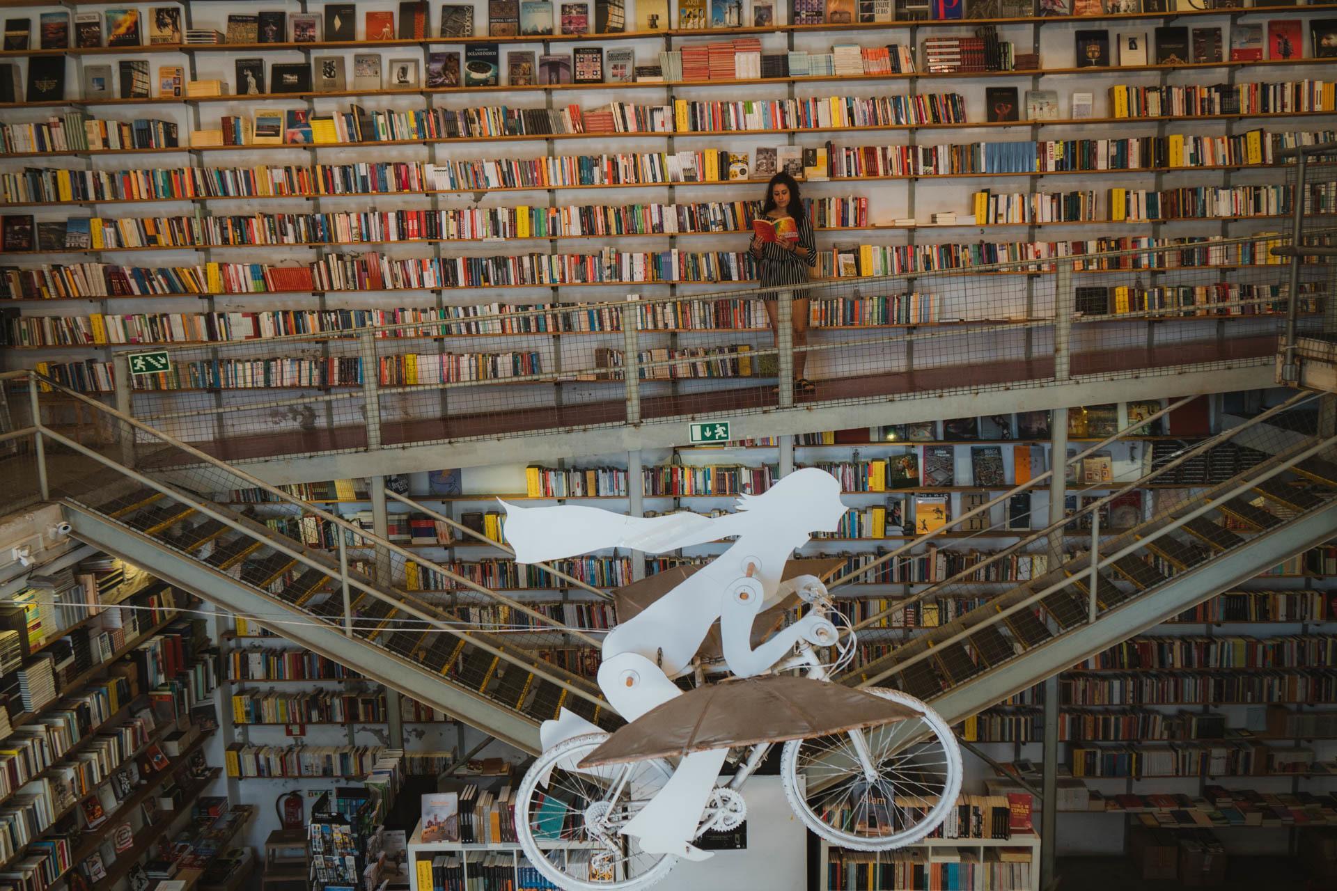 bookshop in Lisbon