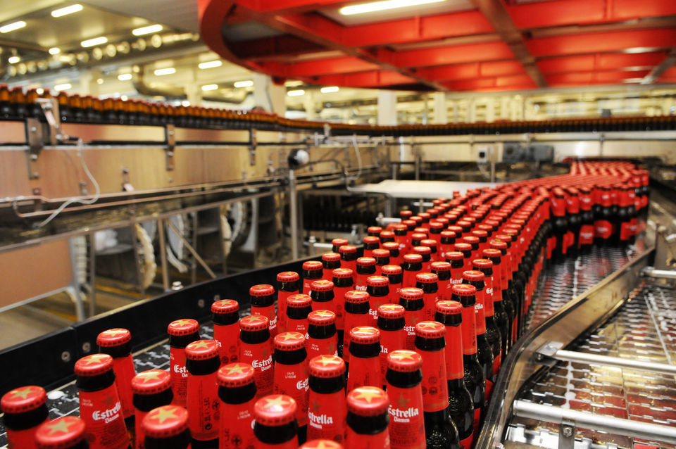 Get your beer on at a tour of Estrella Damm Brewery