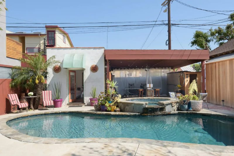 Guest Studio with Pool and Hot Tub
