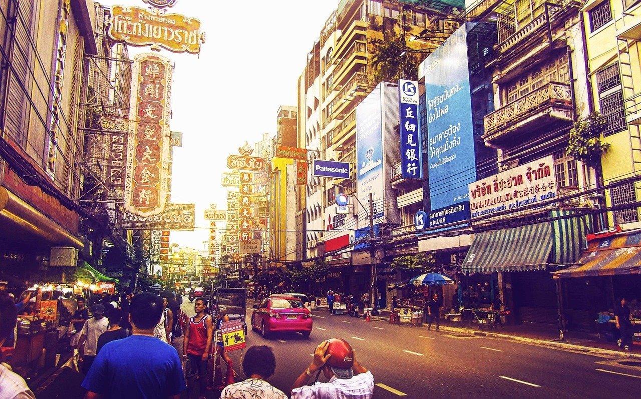 Khao San Road ttd Bangkok