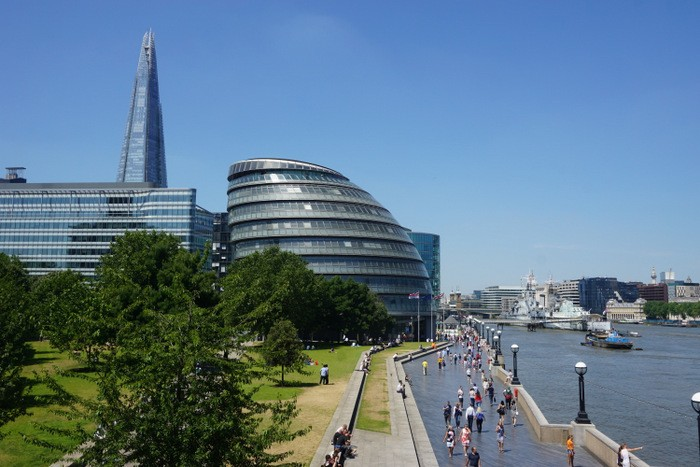 Backpacking London