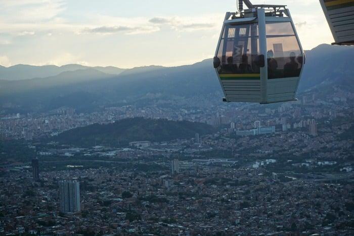 Backpacking Medellin