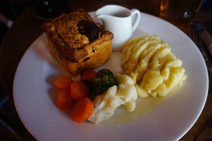 British Pub Food