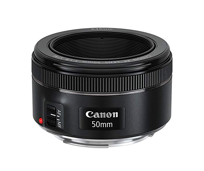canon 50mm f/1.8 travel lens
