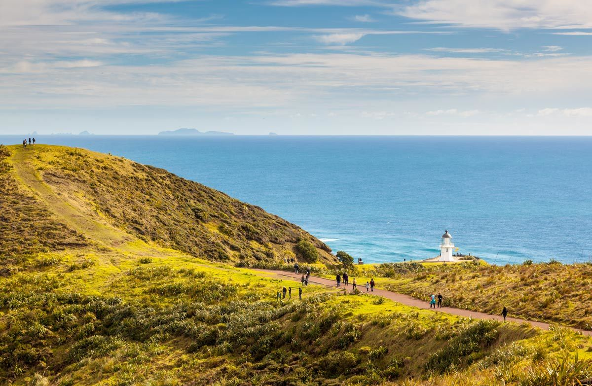Cape Reinga - top place to visit in New Zealand of Maori significance