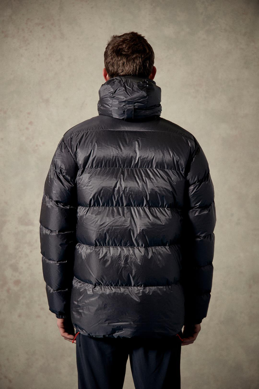 how to wear a down jacket
