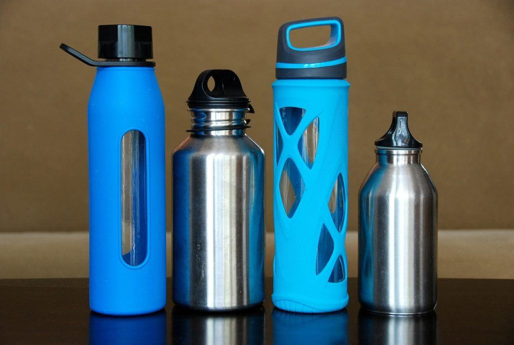 A range of travel water bottles to choose from