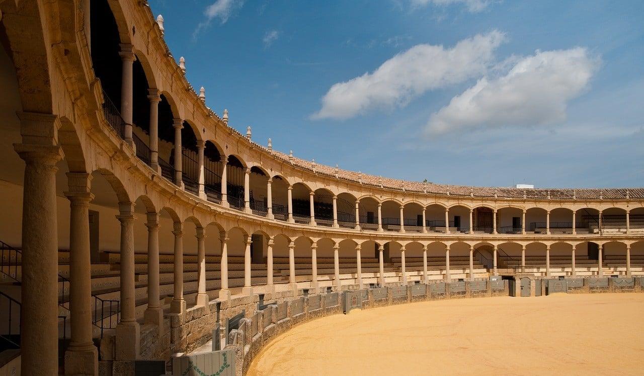 ronda Spain bullfighting ring