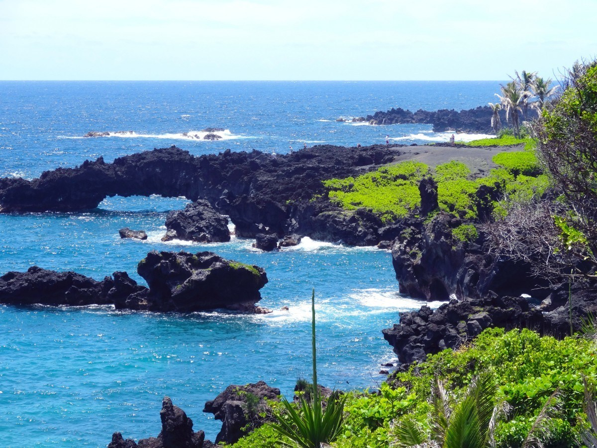 backpacking Hawaii