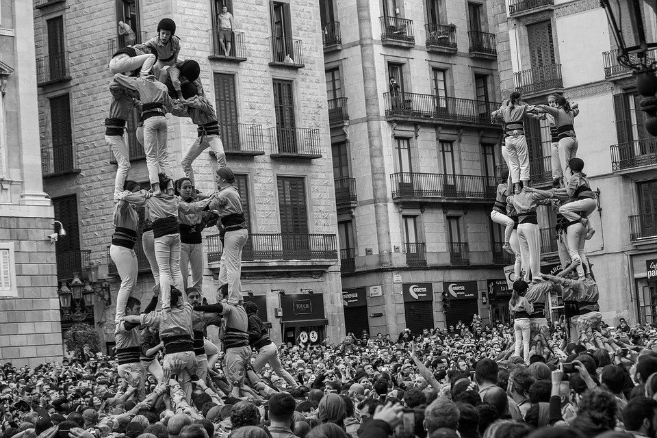 Castellets Barcelona