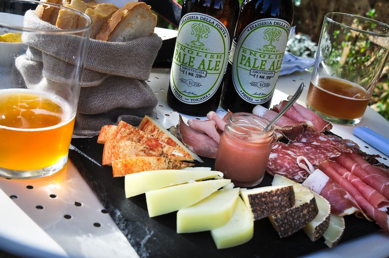 Go on a tapas and beer tour