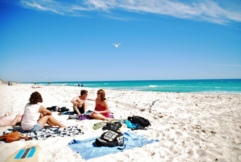 beach at one of best Australia travel tours with Intrepid Travel