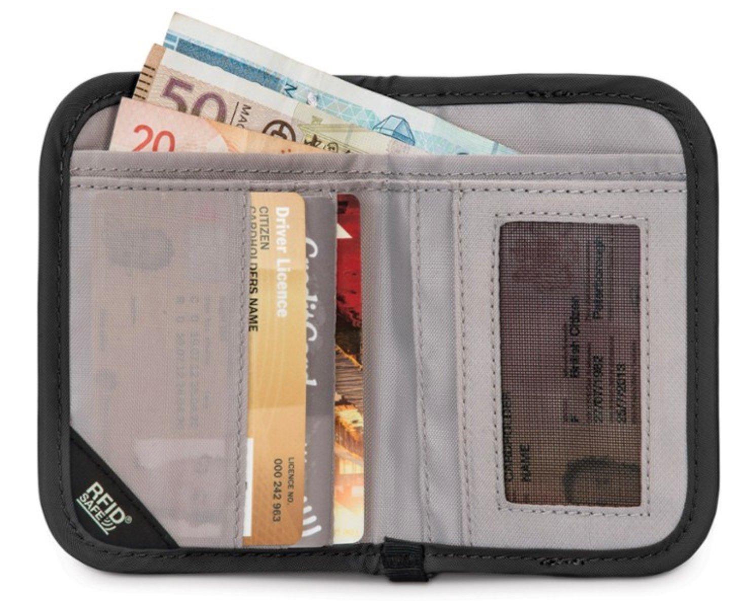Pacsafe RFIDsafe V50 RFID Blocking Bi-Fold Wallet