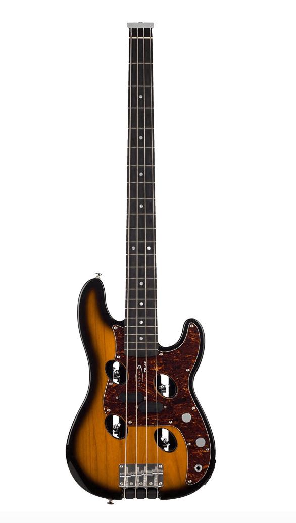 Traveler Guitar TB-4P Electric Travel Bass - the best travel bass guitar