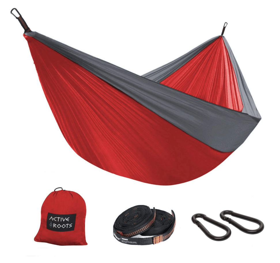 An active roots hammock - an inexpensive gift for travelers