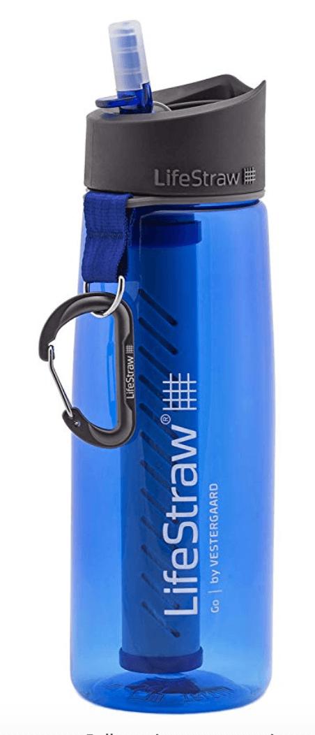 LifeStraw Go Water Bottle - Runner-Up for Best Overall Filtered Water Bottle