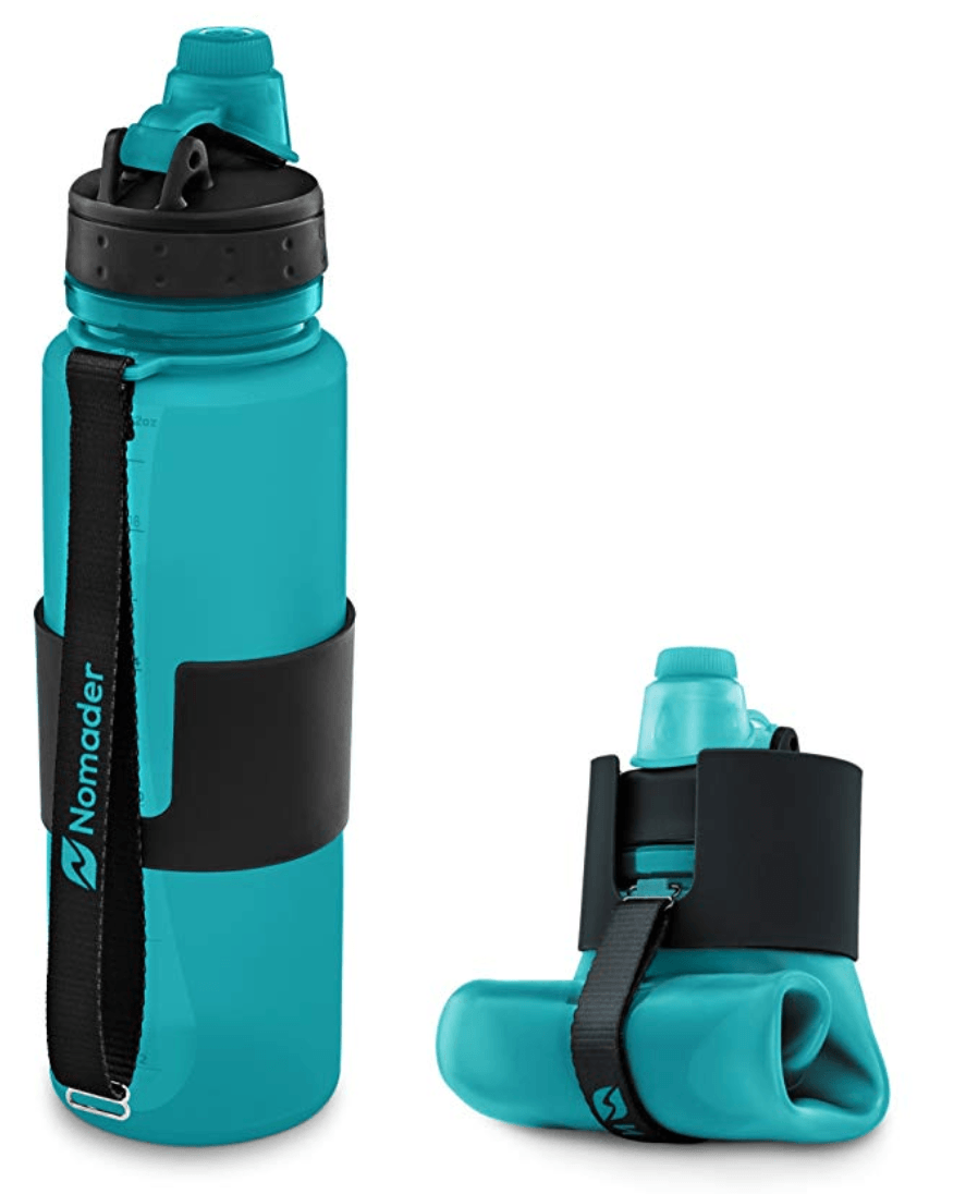 Nomader Collapsible Water Bottle gifts for travelers