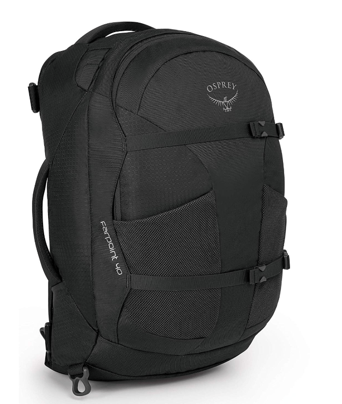 Osprey Farpoint 40 gifts for travelers