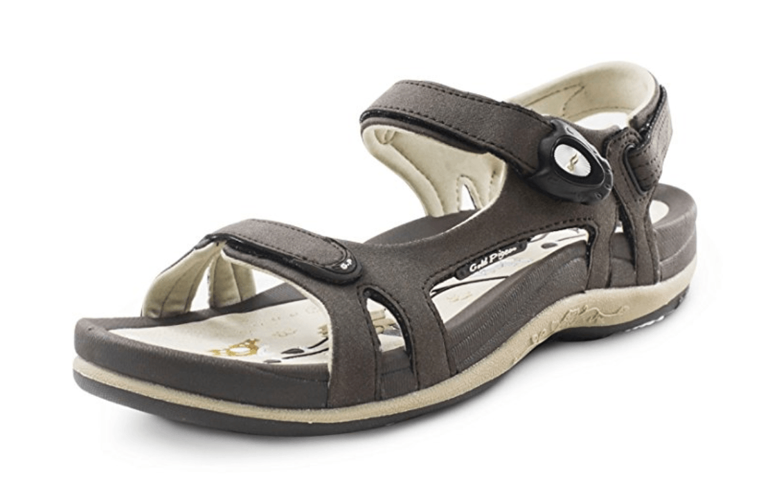 Gold Pigeon Women's Sandal gifts for travelers