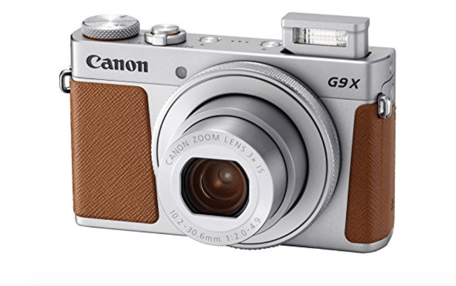 Canon Powershot G9x Mark II gifts for travelers