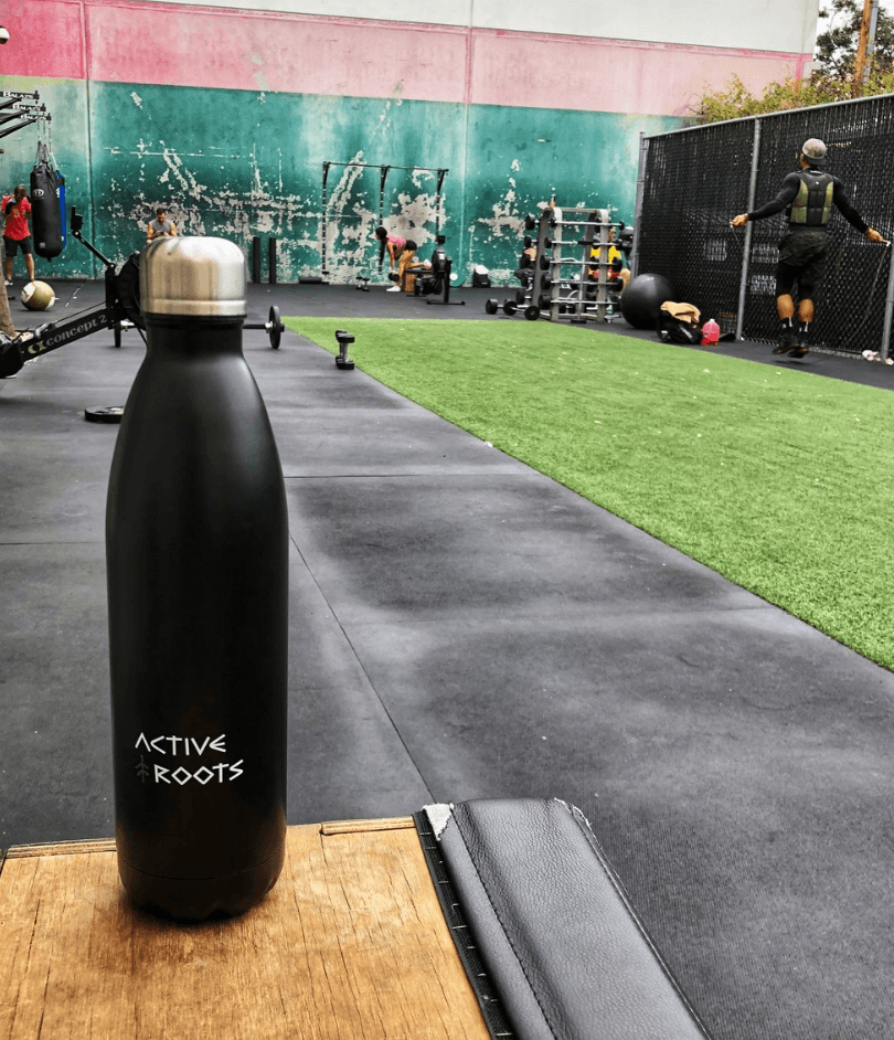 Active roots - best travel water bottle for hostels