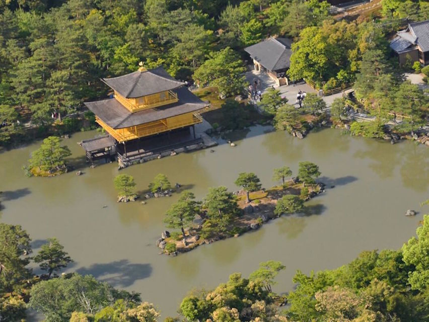 Helicopter tour over Kyoto