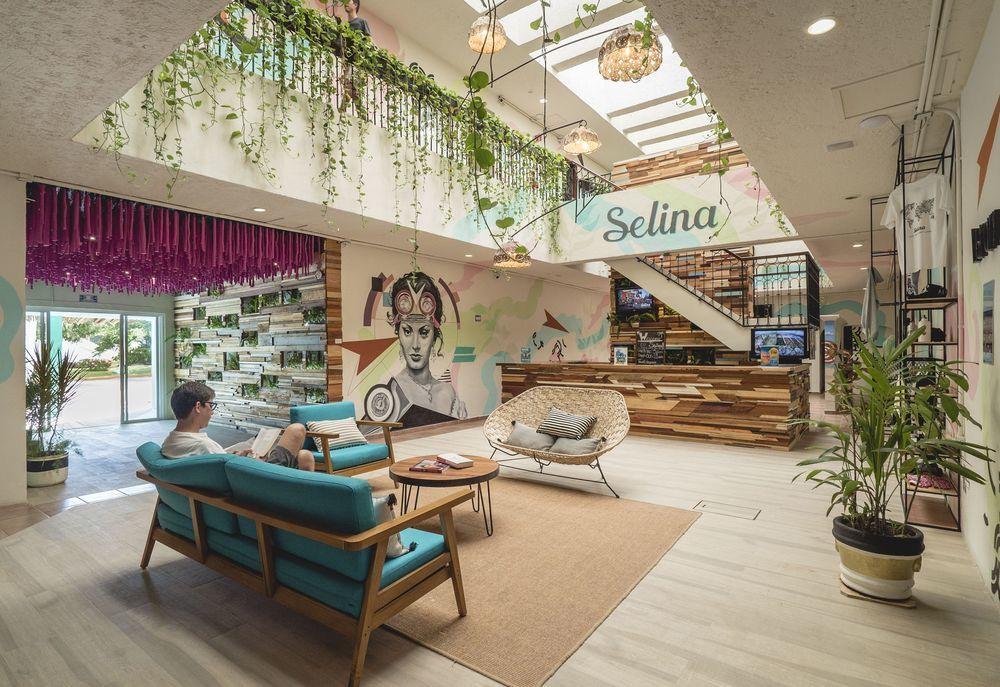 Selina Hostel Downtown best hostels in Cancun