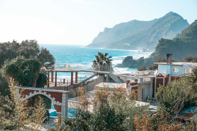 Sunrock best hostels in Corfu