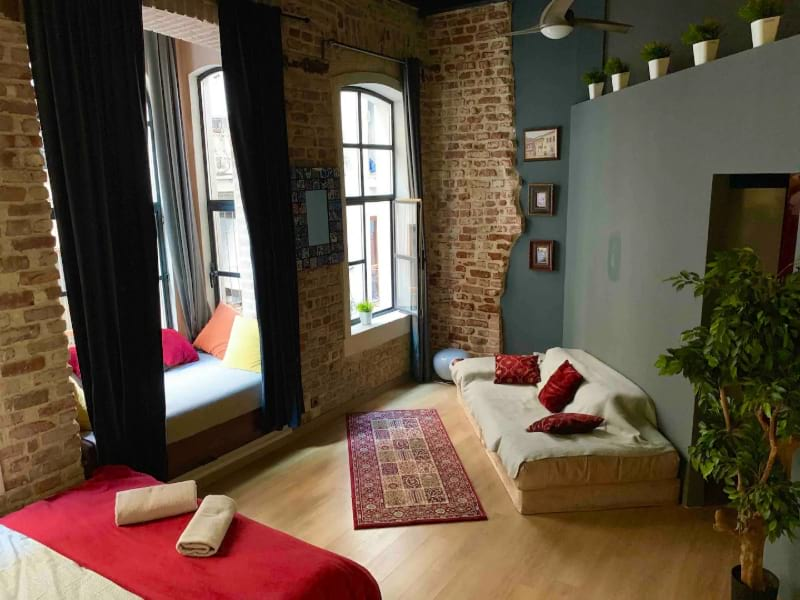 Tophane loft apartment in historical building