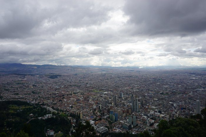 Backpacking Bogota