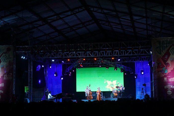 jazz festival in Bogota