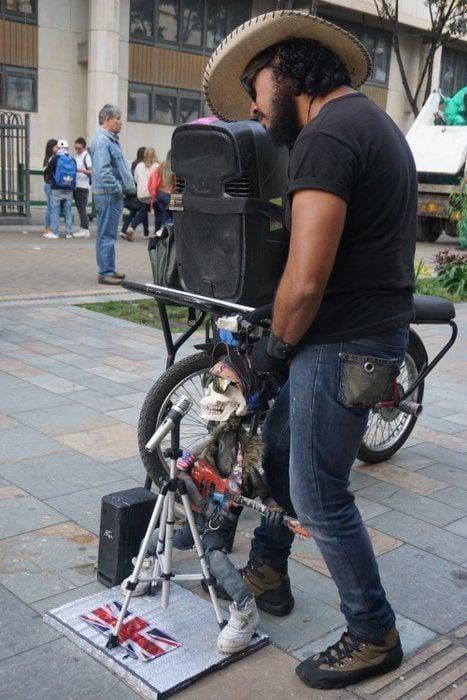 Bogota Street Performer