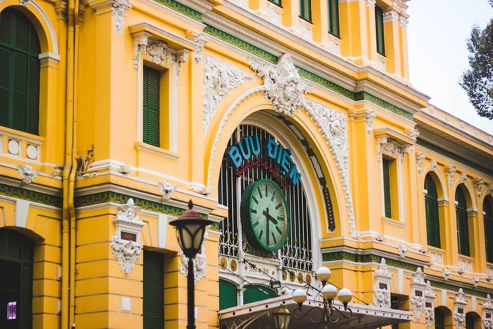 saigon post office ho chi minh city vietnam