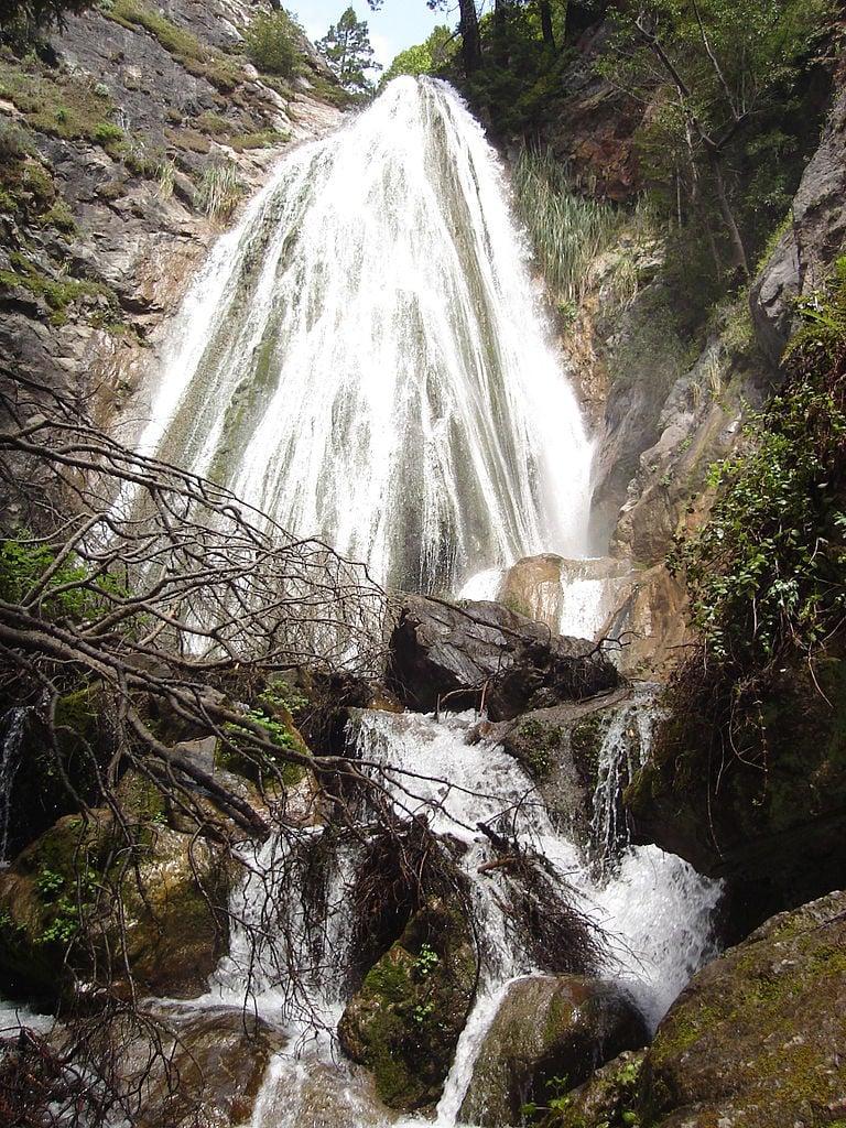 Limekiln Falls in Limekiln State Park Big Sur