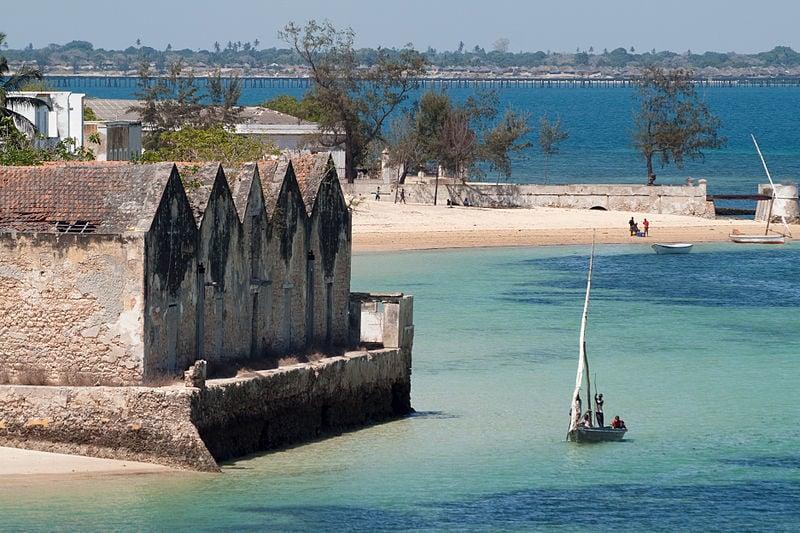 ilha de mocambique and dhow mozambique