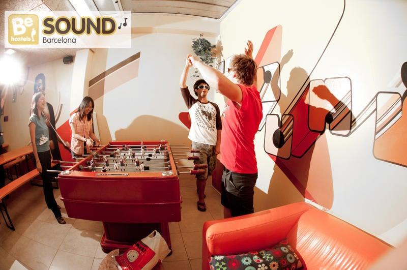 Be Sound Hostel best party hostels in Barcelona