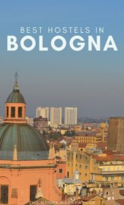 Best Hostels in Bologna PIN