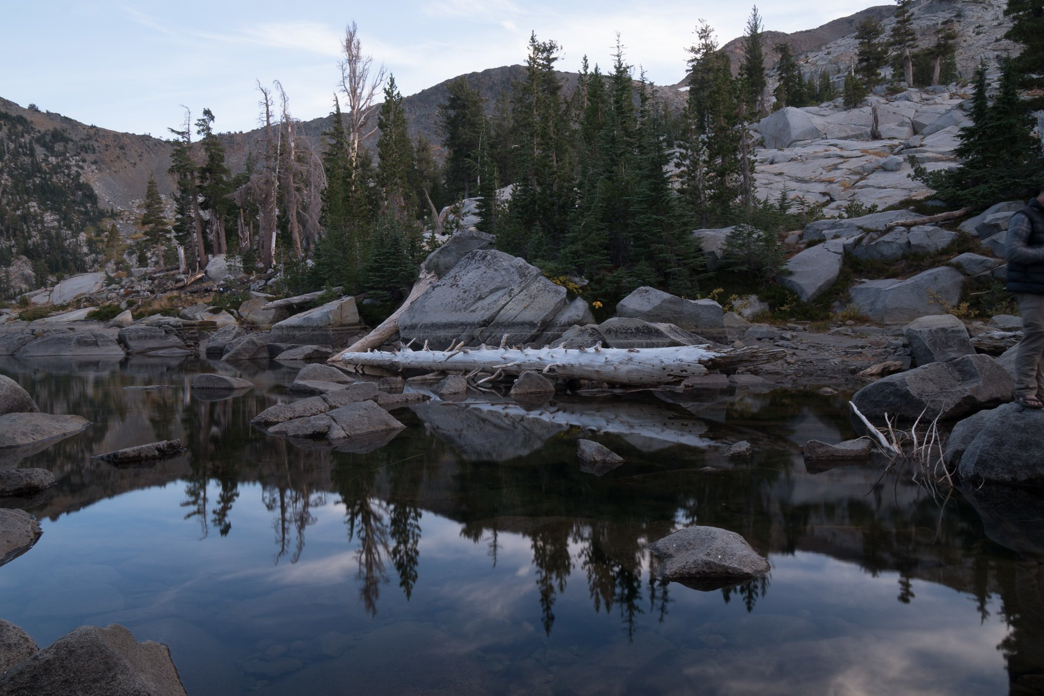 camping in desolation wilderness california