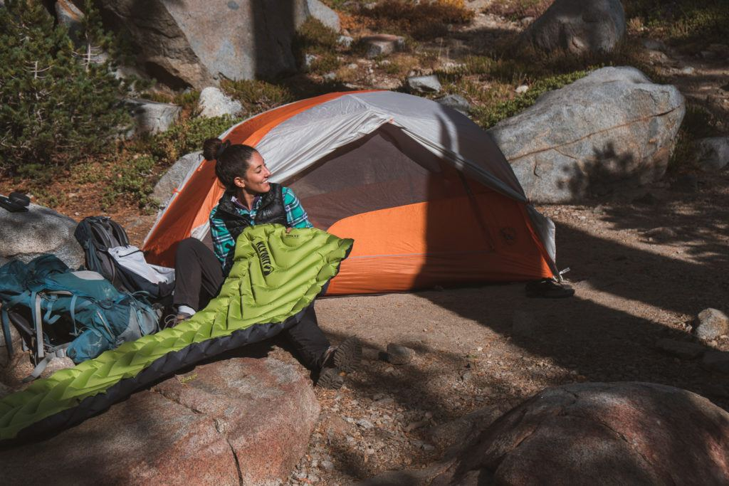 A good sleeping pad for camping is the best choice