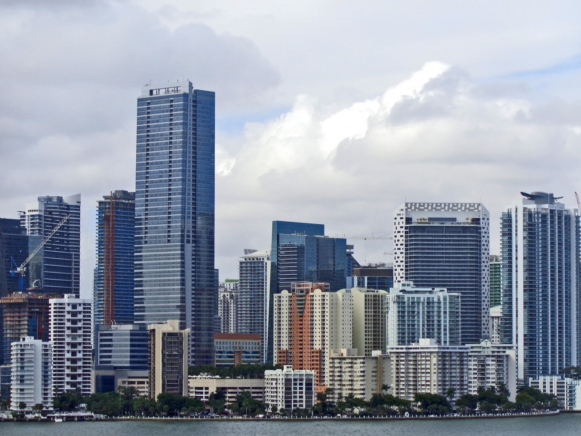 Downtown Miami skyline - Best Place to Stay for a first time in Miami