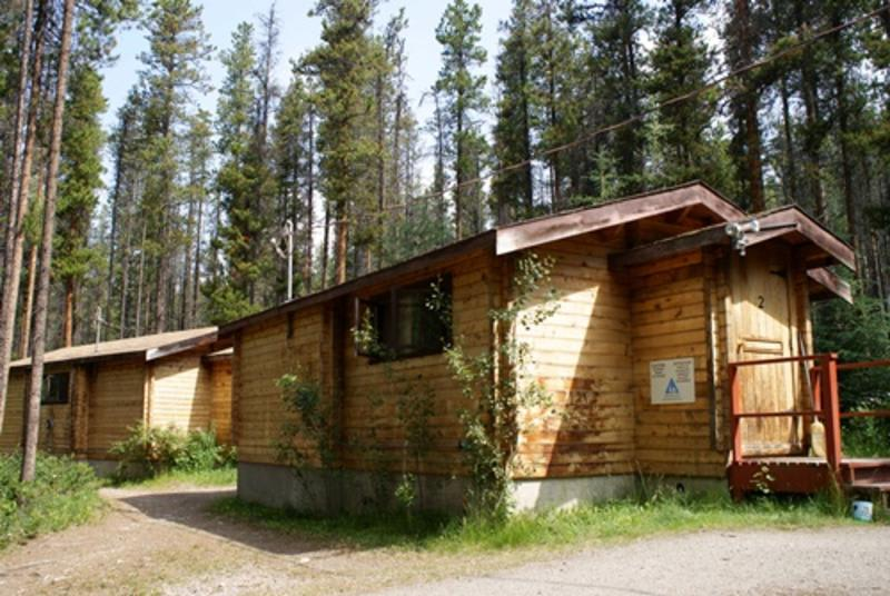 HI Athabasca Falls best hostels in Jasper