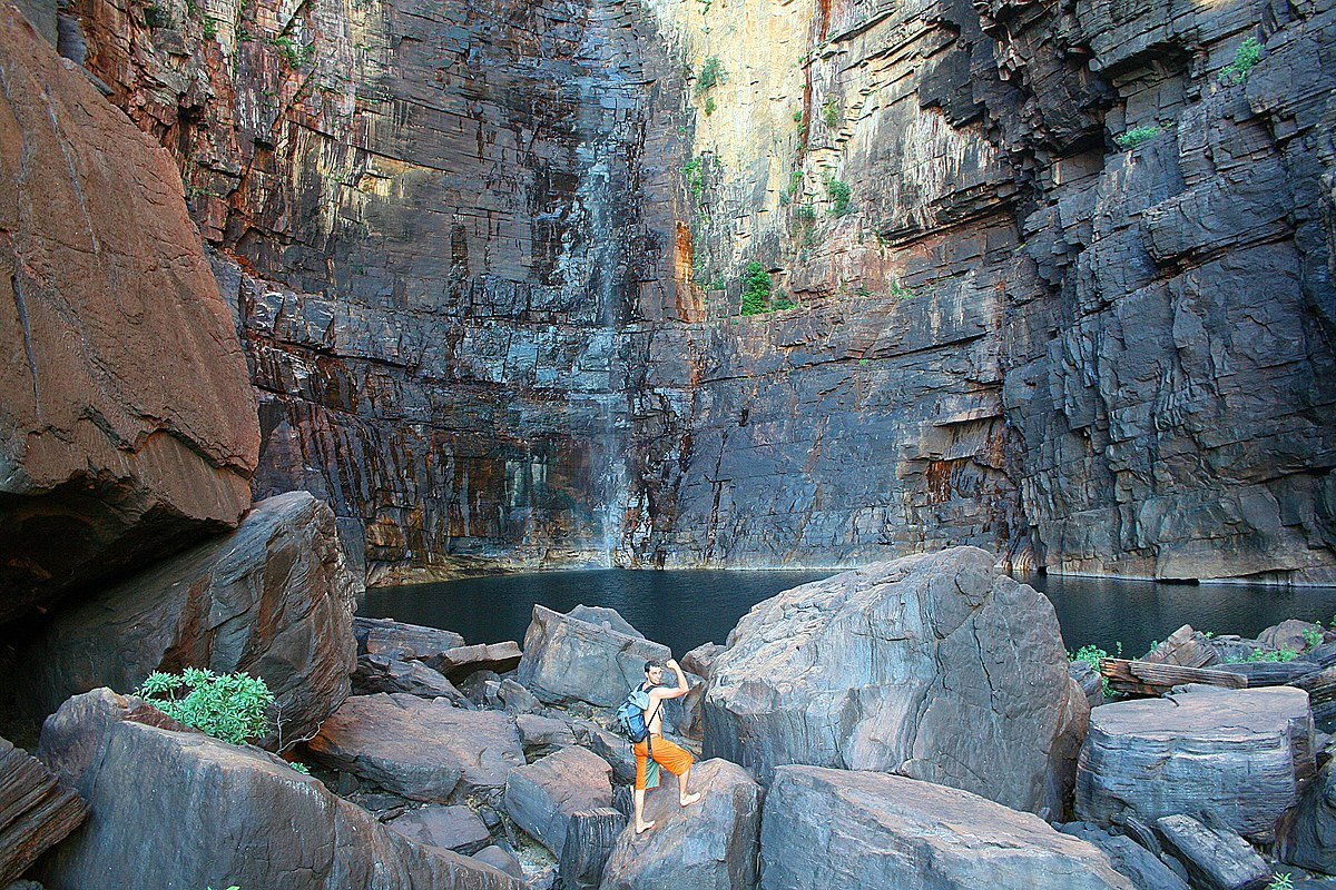 kakadu rock swimming hole