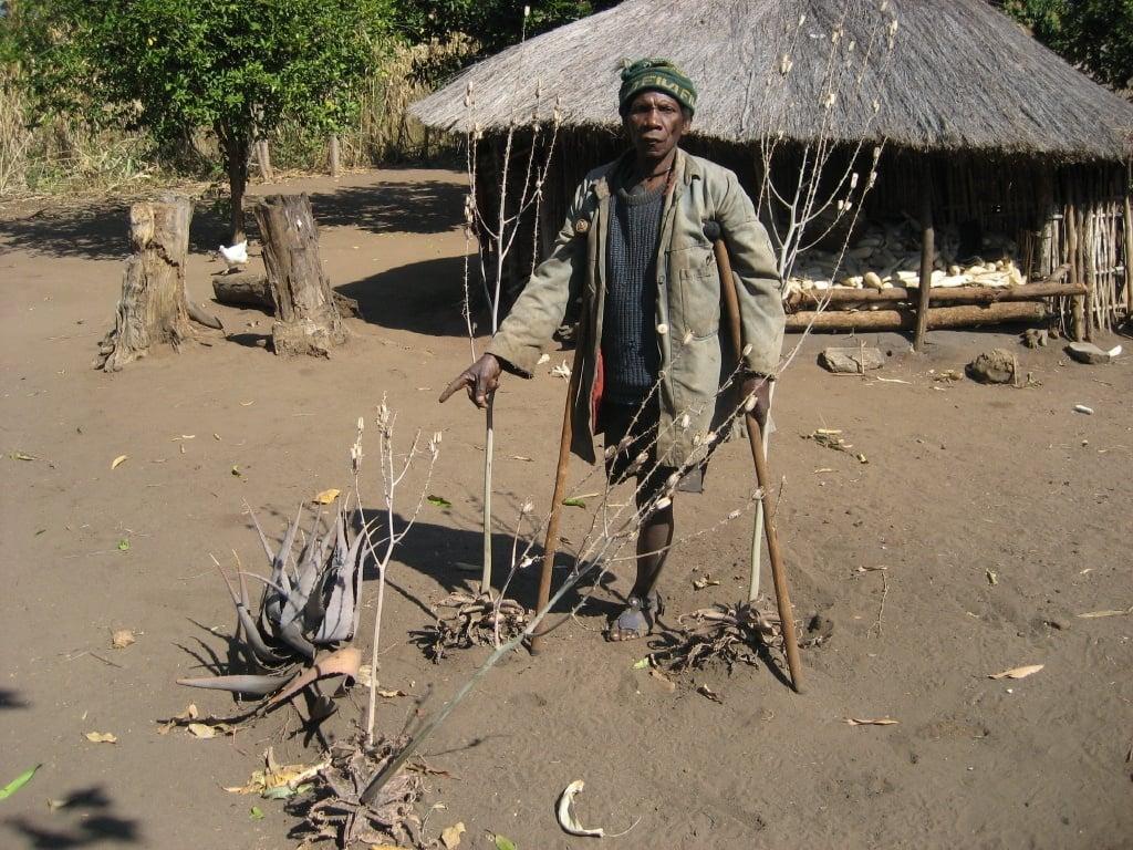 land mine victim mozambique