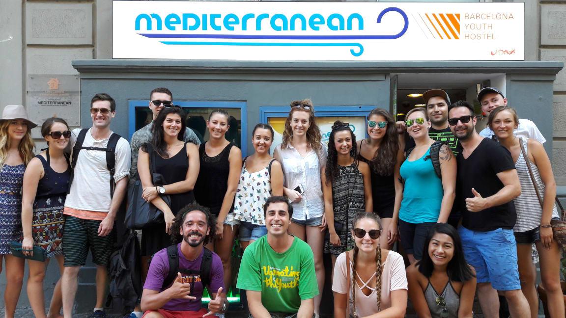 Mediterranean Youth Hostel best party hostels in Barcelona