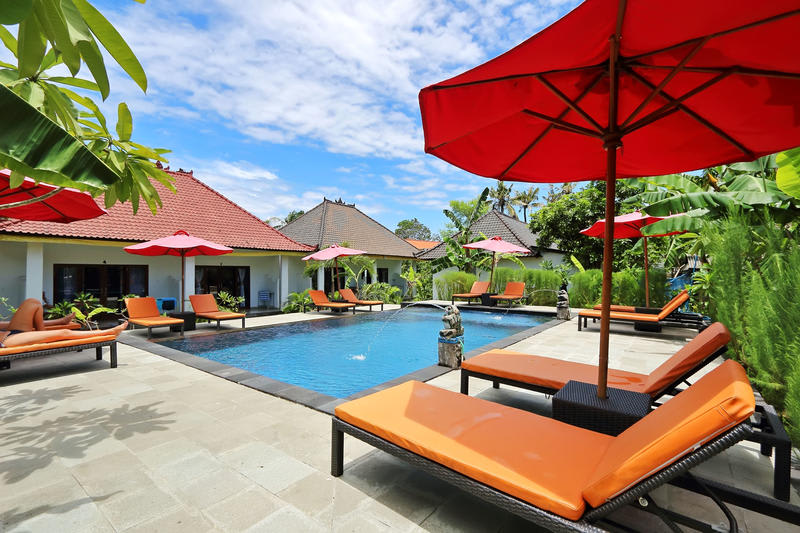 Naradas Homestay best hostels in Nusa Lembongan and Nusa Penida