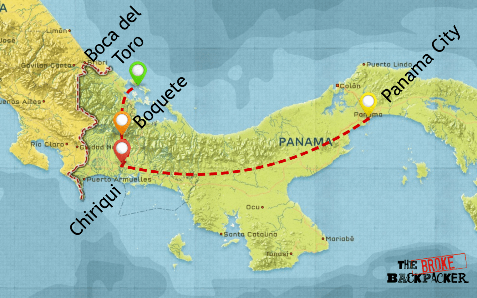 backpacking panama itinerary 10 days