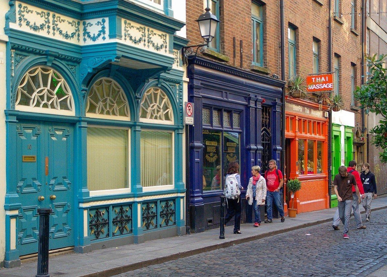 Temple Bar ttd Dublin