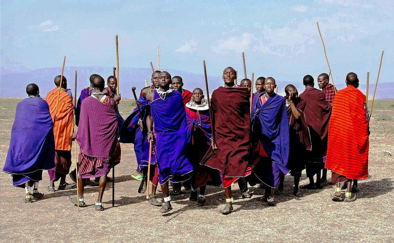 maasai tribesmen in tanzania