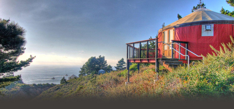 big sur camping alternatives: hotels like Tree Bones