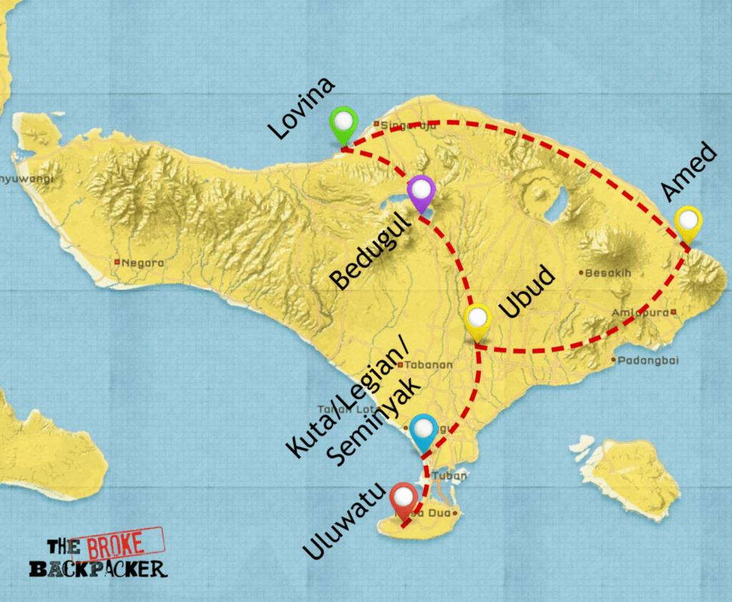 map-backpacking-bali